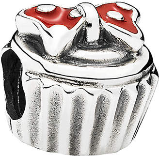 Pandora Disney Jewelry Collections Silver Enamel Minnie Cupcake Charm