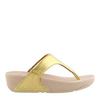 44492b6357b24a FitFlop Women s LULU Leather Toepost Open Toe Sandals