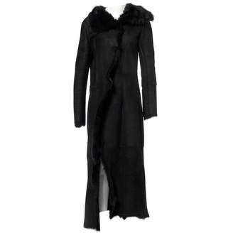 Harrods Black Shearling Coats
