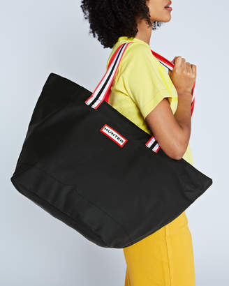 Hunter lightweight rubberised tote bag