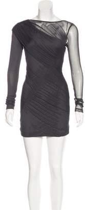 Rag & Bone Semi-Shear Mini Dress