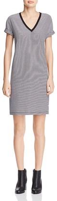 T by Alexander Wang Stripe Jersey Dress $150 thestylecure.com
