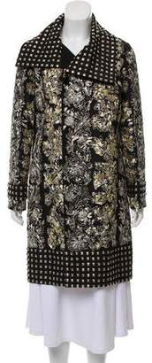 Oscar de la Renta Embroidered Evening Jacket