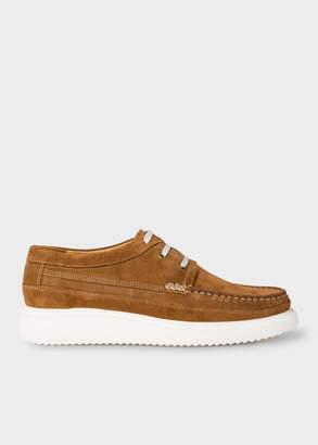 Paul Smith Men's Tan Suede 'Seneca' Moccasins