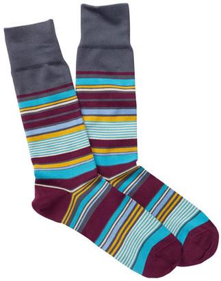 Paul Smith Nautical Crew Socks $30 thestylecure.com