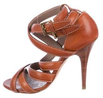 Etro Leather High-Heel Sandals