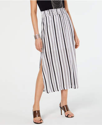 INC International Concepts Inc Crinkle Gauze Maxi Skirt