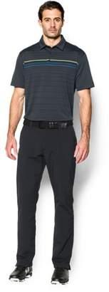 Under Armour Men's UA coldblack® Engineered Stripe Polo