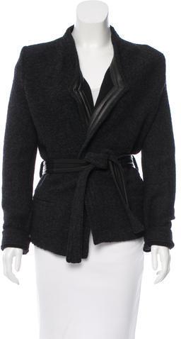 IROIro Awa Leather-Trimmed Jacket
