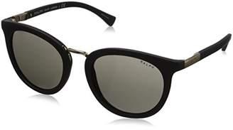 Polo Ralph Lauren Women's 0RA5207 Round Sunglasses