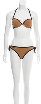 Fendi Roma Two-Piece Swimsuit w/ Tags