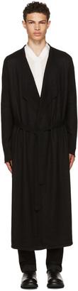 Rick Owens Black Long Cashmere Cardigan $2,880 thestylecure.com