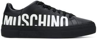 Moschino low-top logo sneakers
