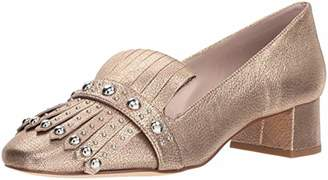 Nine West Women's WESH Metallic Penny Loafer