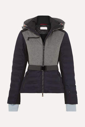Erin Snow - Kat Merino Wool-blend Ski Jacket - Navy
