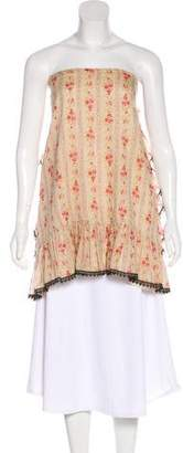 Anna Sui Oversize Sleeveless Top