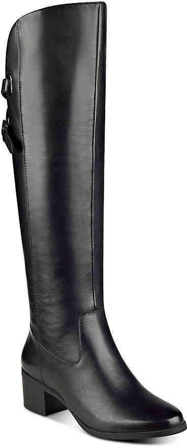 Anne KleinWomen's Anne Klein Junip Wide Calf Over The Knee Boot -Black