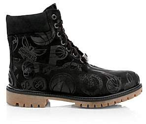 Timberland Men's NBA East Vs West Leather Boots