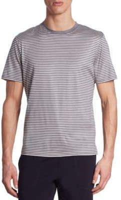 Saks Fifth Avenue COLLECTION Striped Short Sleeve Tee