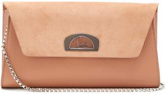 Christian Louboutin Vero Dodat leather and suede clutch