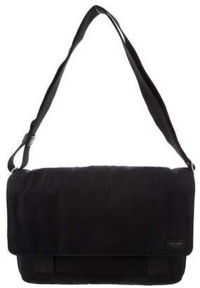 Jack Spade Nylon Zip Messenger Bag