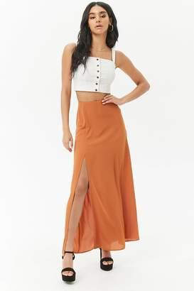 Forever 21 Chiffon Maxi Skirt
