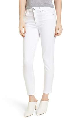 A Gold E AGOLDE Sophie High Waist Ankle Skinny Jeans (Vixen)