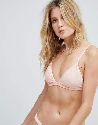PrettyLittleThing Ribbed Bikini Top