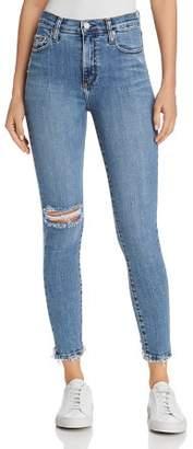 Nobody Cult Ankle Skinny Jeans in Transpire