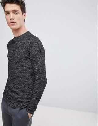 NATIVE YOUTH Textured Sweatshirt
