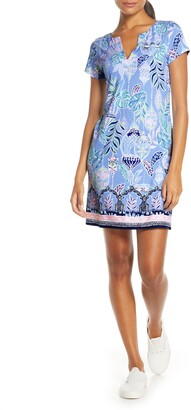 Lilly Pulitzer Sophiletta UPF 50+ Shift Minidress