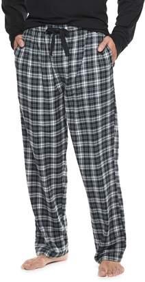 Chaps Big & Tall Plaid Flannel Sleep Pants