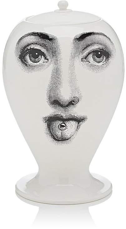 Tongue- & Nose-Piercing Vase