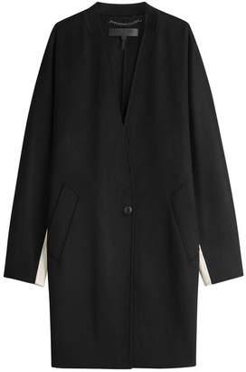 Rag & Bone Colorblocked Wool Coat