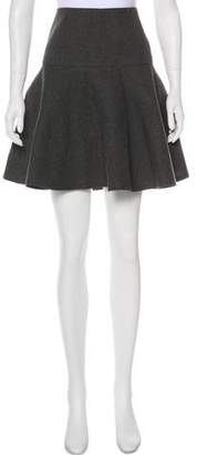 Paule Ka Flared Mini Skirt
