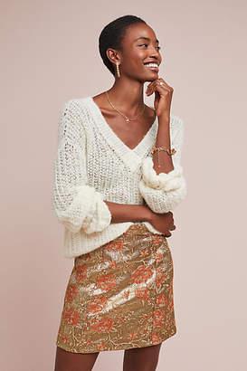 Maeve Brocade Mini Skirt