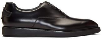 Prada Black Clean Oxfords