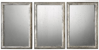 One Kings Lane Alcon Wall Mirrors - Antiqued Silver Leaf