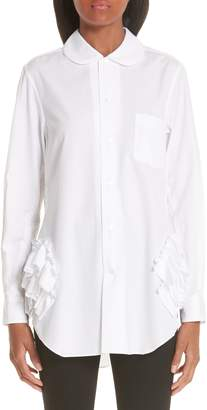 Comme des Garcons Ruffle Side Shirt