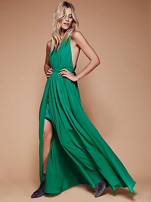 Athea Drape Maxi by Free People $250 thestylecure.com