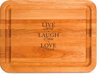 Catskill Craft Live, Laugh, Love Cutting Board