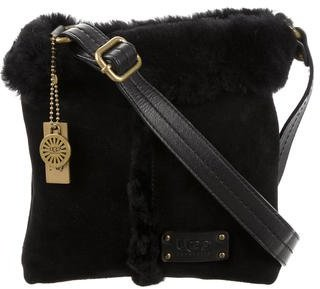 UGG Australia Shearling & Suede Messenger Bag $95 thestylecure.com