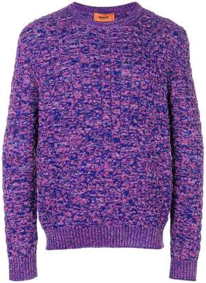 Missoni cable knit jumper