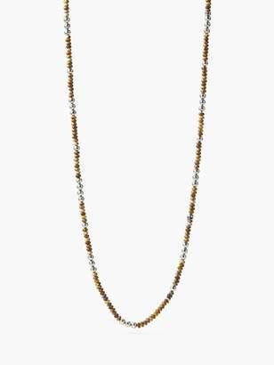 John Varvatos Beaded Mercer Necklace