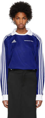 Gosha Rubchinskiy Blue adidas Originals Edition Football Polo