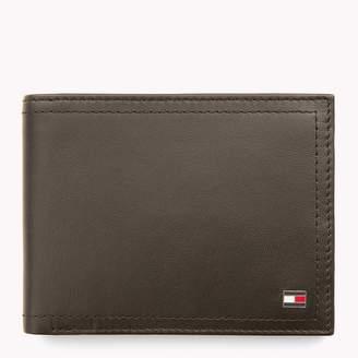 Tommy Hilfiger Leather Coin Pocket Cardholder