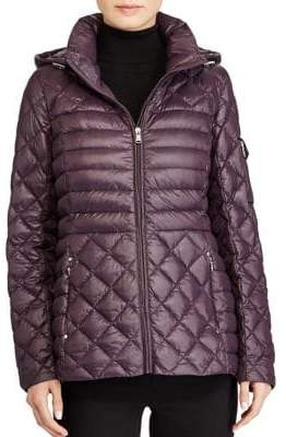 Lauren Ralph Lauren Packable Quilted Down Coat