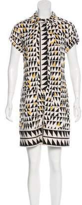 Diane von Furstenberg Retro Mini Dress