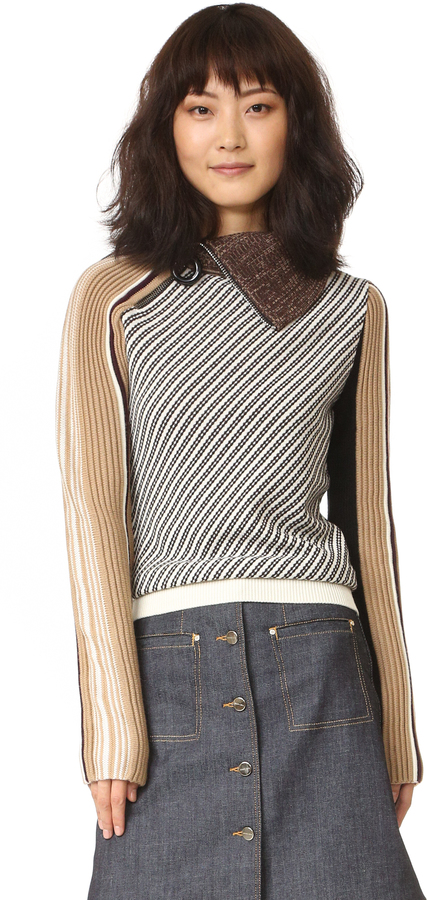 Carven Carven Turtleneck Sweater