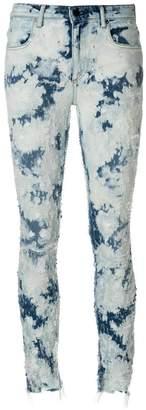 Alexander Wang bleached skinny jeans